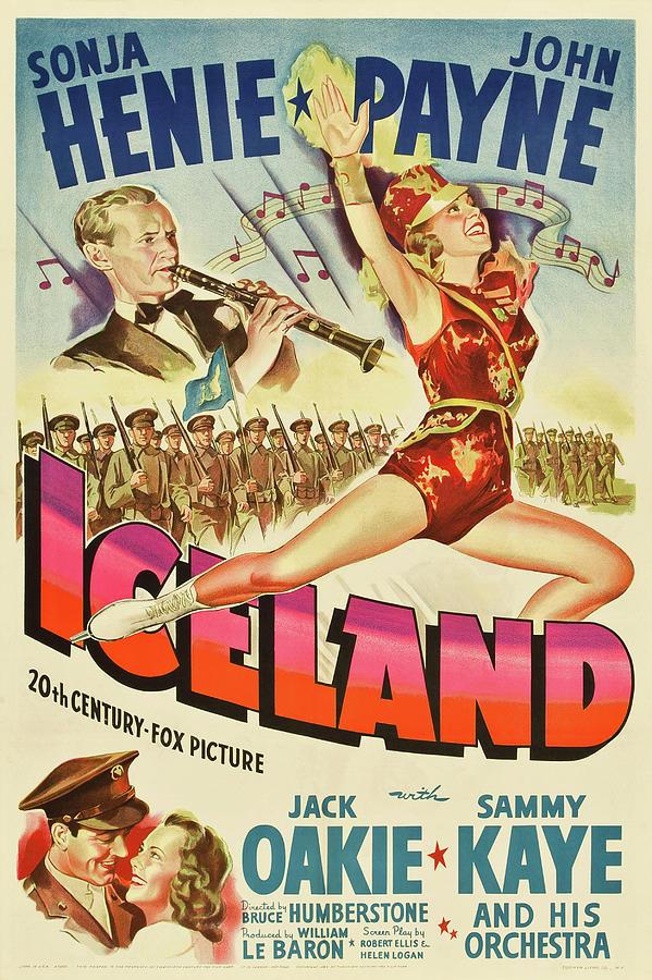 iceland, With Sonja Henie And John Payne, 1942 Mixed Media