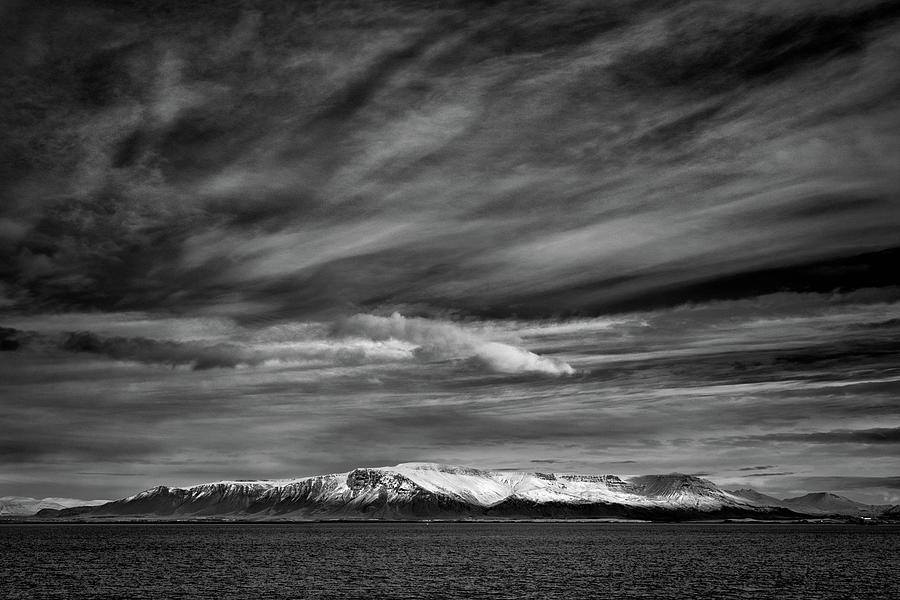 Icelandic Mountains Photograph