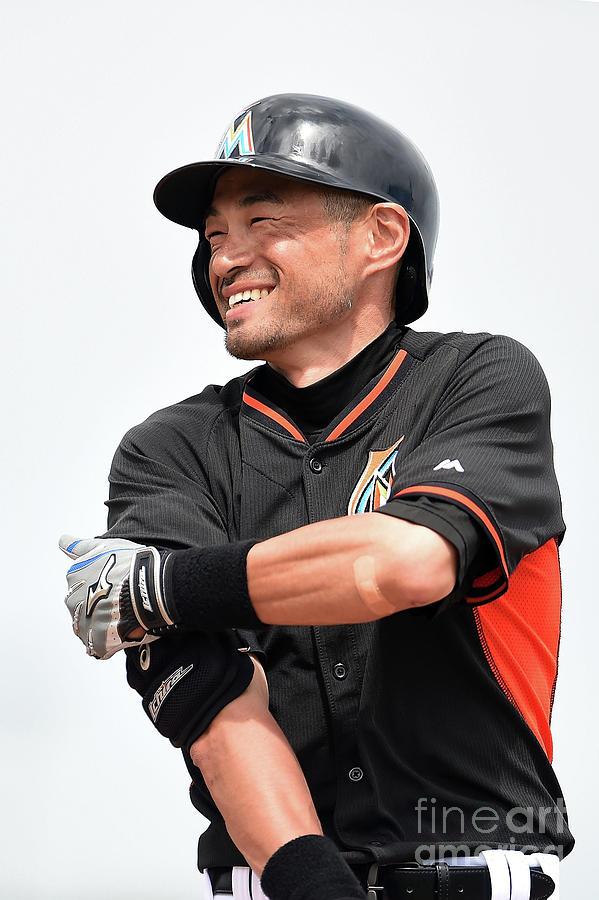 Ichiro Suzuki Photograph by Stacy Revere
