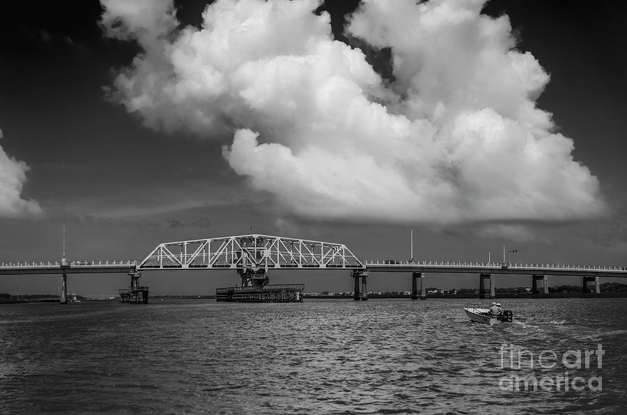 Icw - Ben Sawyer Swing Bridge Photograph