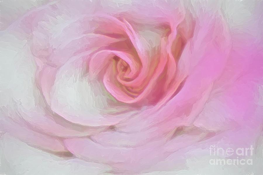 Icy Rose Digital Art
