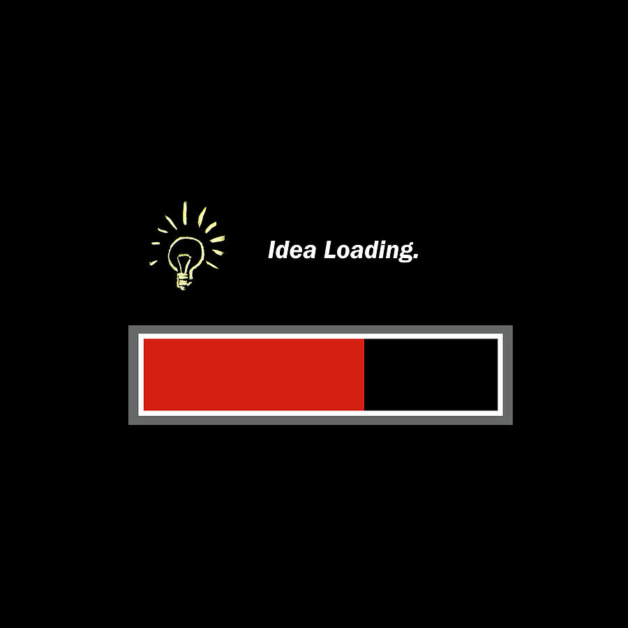Business Photograph - Idea Loading - Graphical. by Paul Cullen