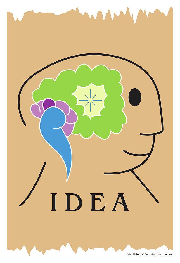Idea Digital Art - Idea by Monty Milne