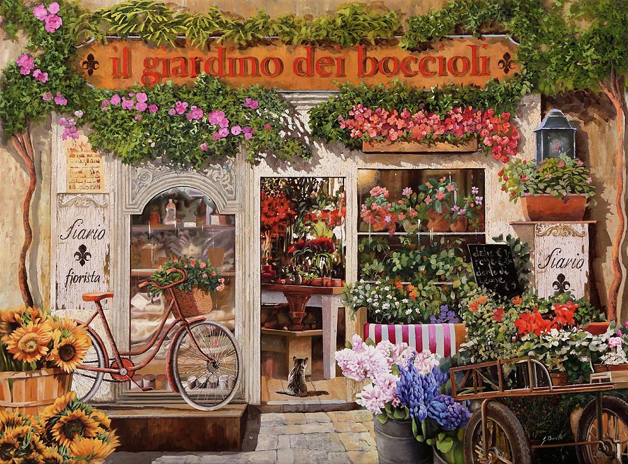 Il Giardino Dei Boccioli Painting