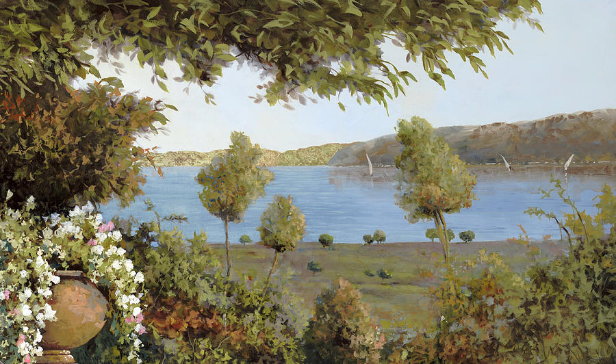 Il Lago Azzurro Painting