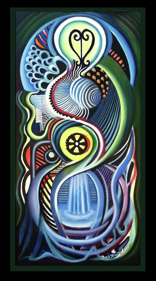 Iletation 1 Painting by Ras Jahaziel Tafari