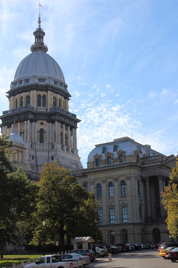 Illinois State Capitol Photograph - Illinois State Capitol by Callen Harty
