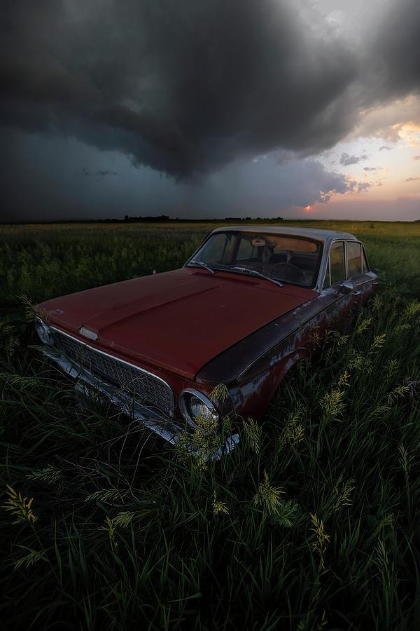 Car Photograph - Im Broken by Aaron J Groen