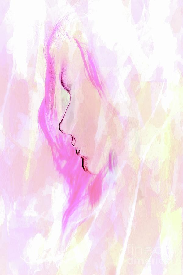 Woman Digital Art - Imagination by Louise Lavallee
