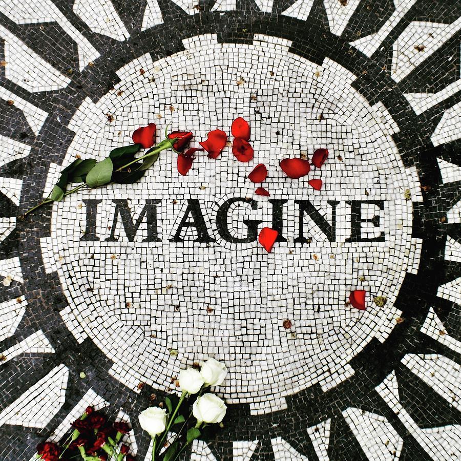 Imagine Photograph - Imagine  by Brent Jones