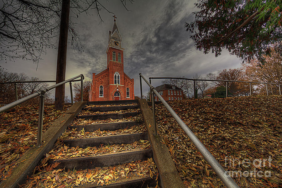 Travel Photograph - Immaculate Conception Catholic Church by Larry Braun
