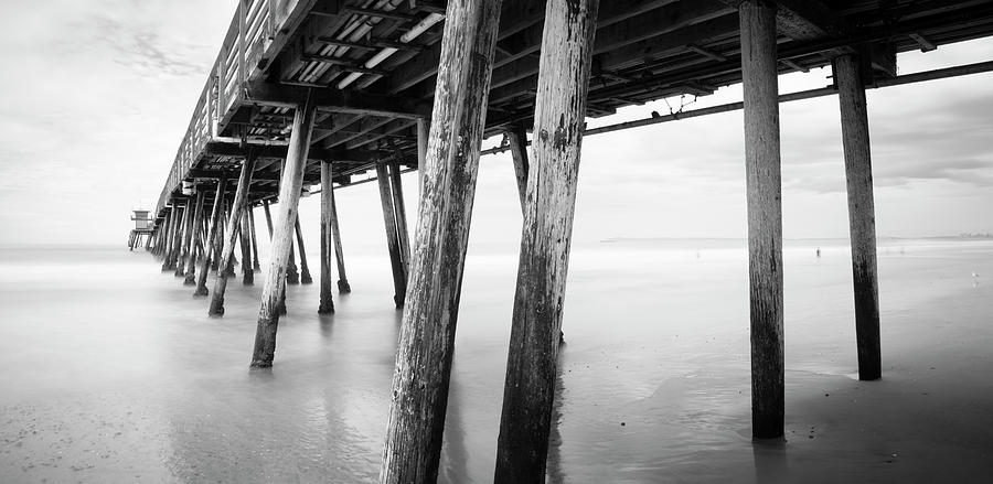 San Diego Photograph - Imperial Beach Pier In Storm by William Dunigan