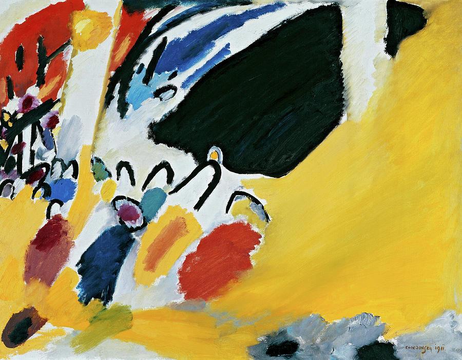 Wassily Kandinsky Painting - Impression 3, 1911 by Wassily Kandinsky
