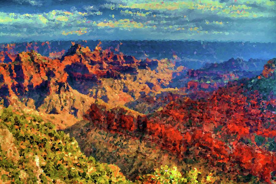 Impressions Of Grand Canyon Digital Art