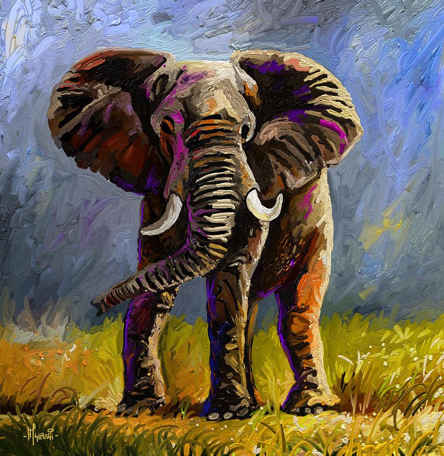 Impressive Jumbo Painting