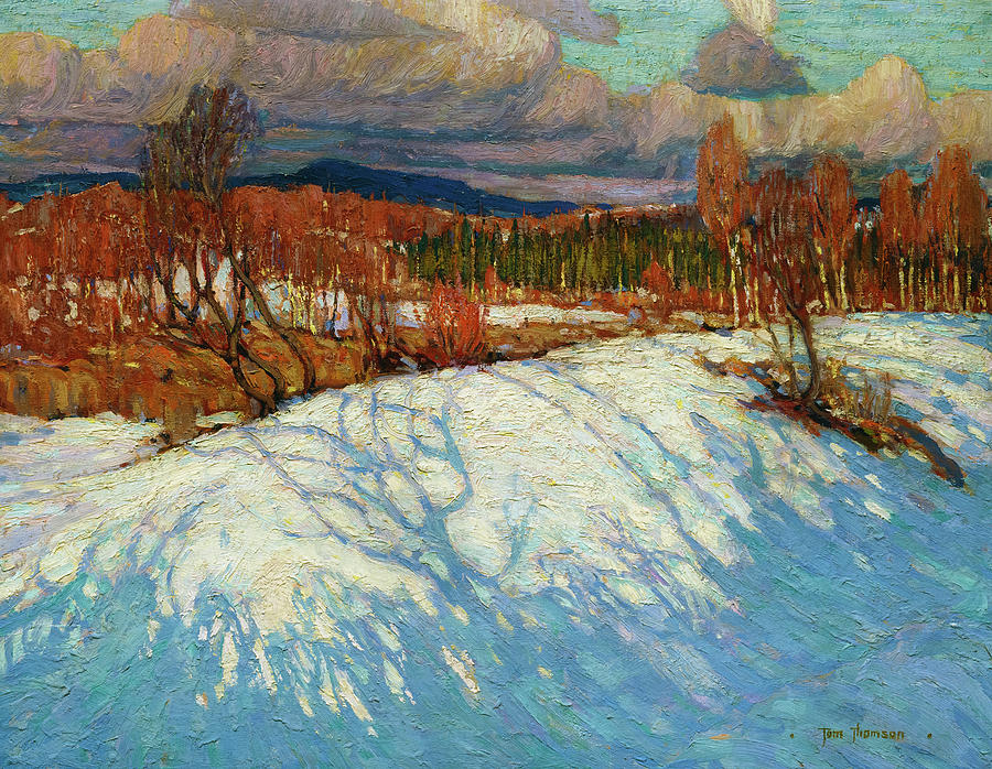 Tom Thomson Painting - In Algonquin Park by Tom Thomson
