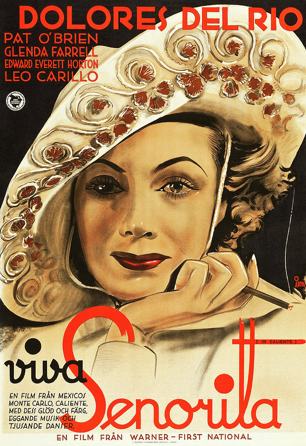 in Caliente, With Dolores Del Rio, 1935 Mixed Media