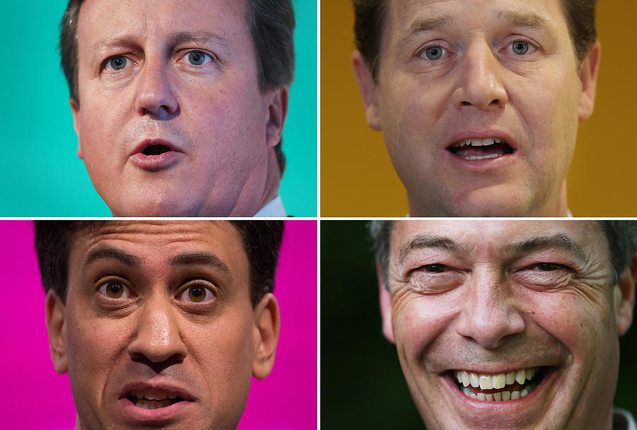 In Focus: Political Faces Photograph by Peter Macdiarmid
