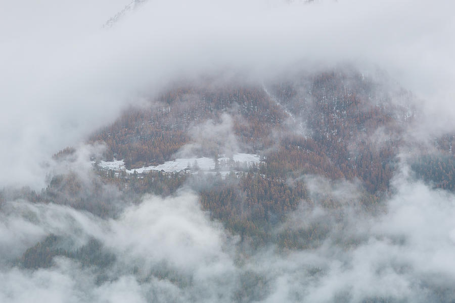 In the clouds - 7 - French Alps by Paul MAURICE