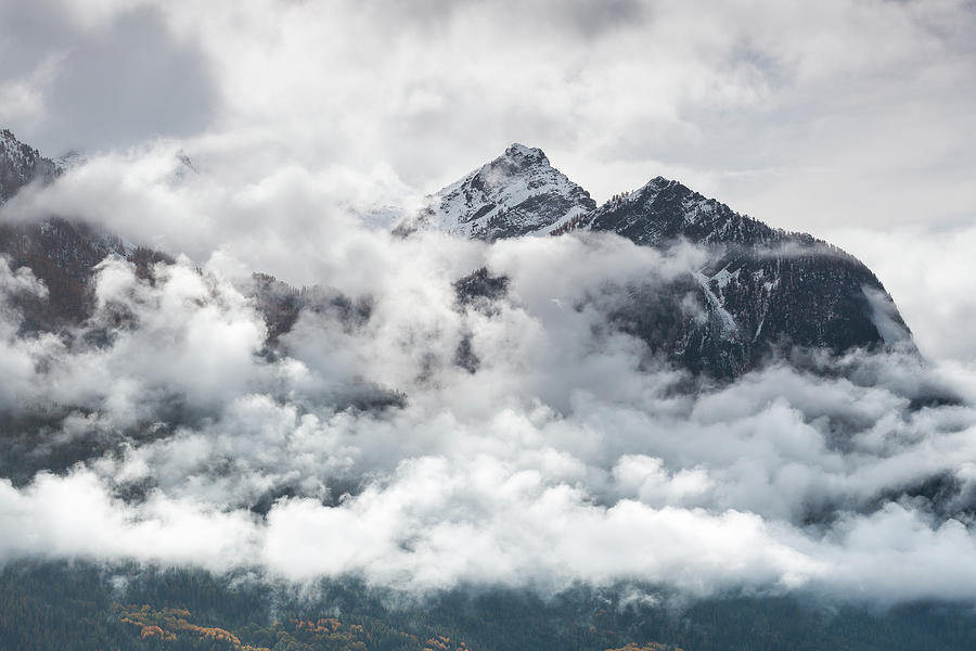 In the clouds - 9 - French Alps by Paul MAURICE