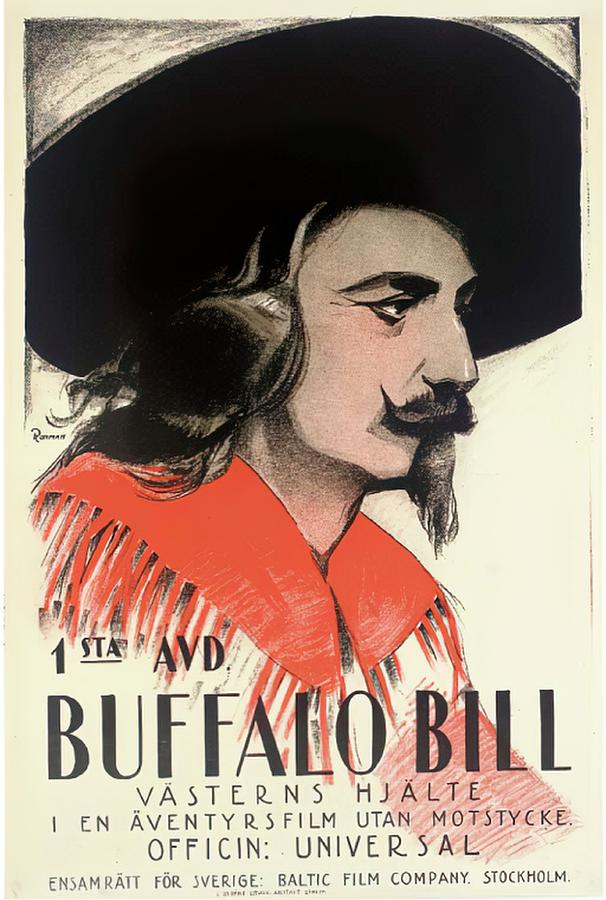 in The Days Of Buffalo Bill, 1922 Mixed Media