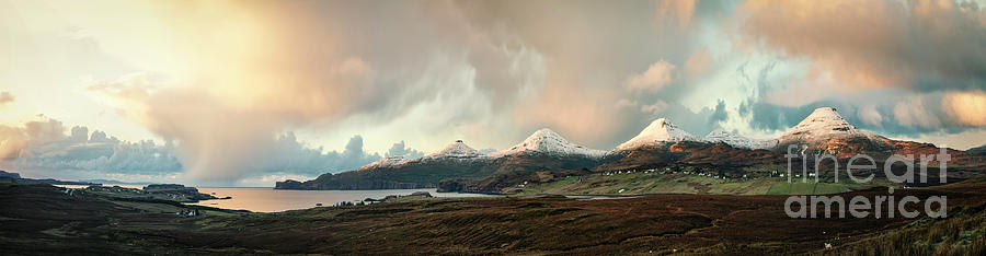 In The Land Of The Golden Skye Photograph