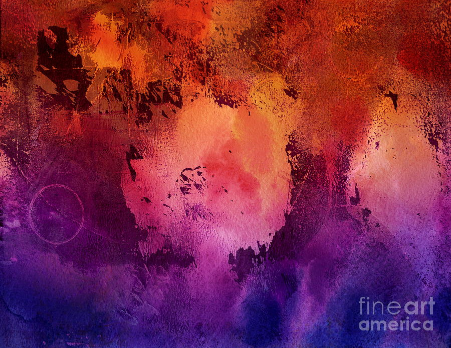 Acrylic Paints Painting - In This Space - Abstract Expressionist Painting by Itaya Lightbourne