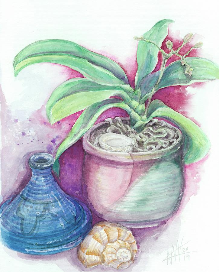 Incense and Orchid by Ashley Kujan