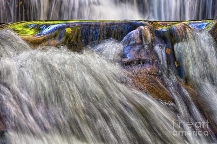 Falls Photograph - Indian Flats Falls 6 by Phil Perkins