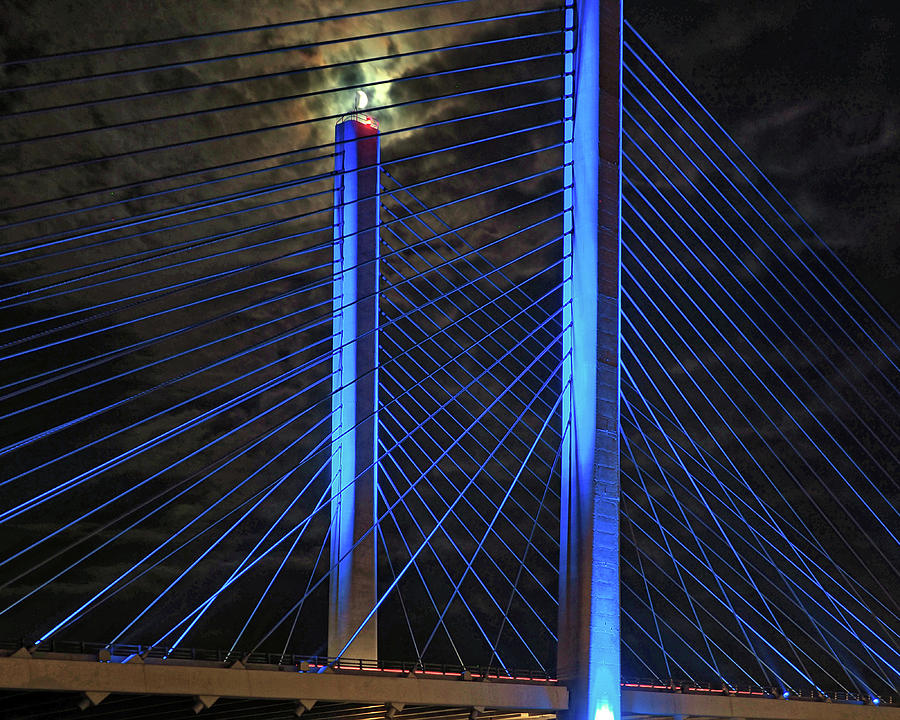 Indian River Bridge Candlestick by Bill Swartwout Photography