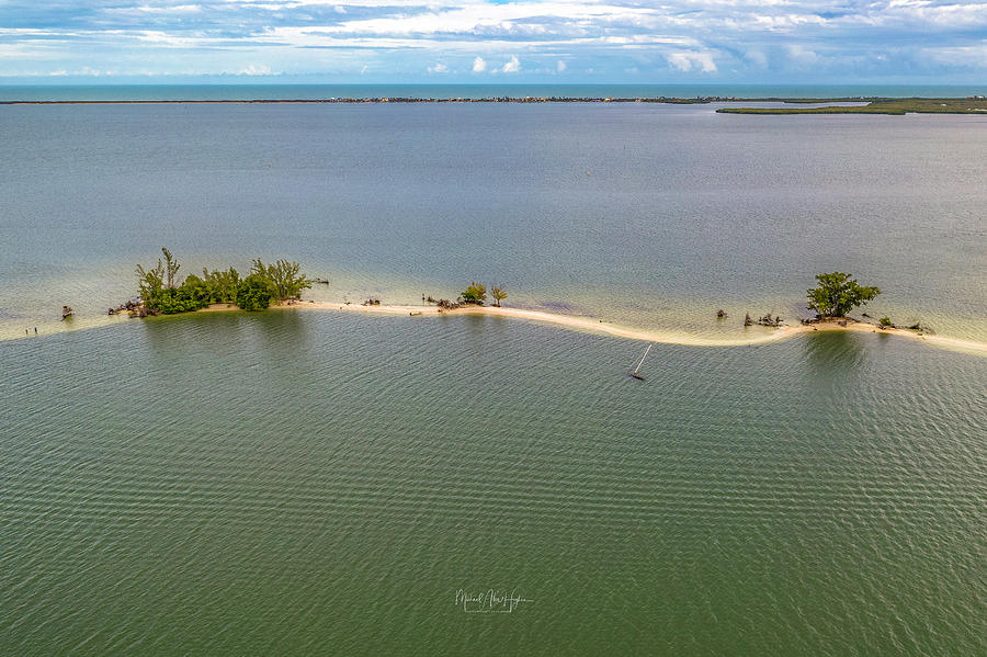 Indian River Pelican Islands  by Michael Hughes