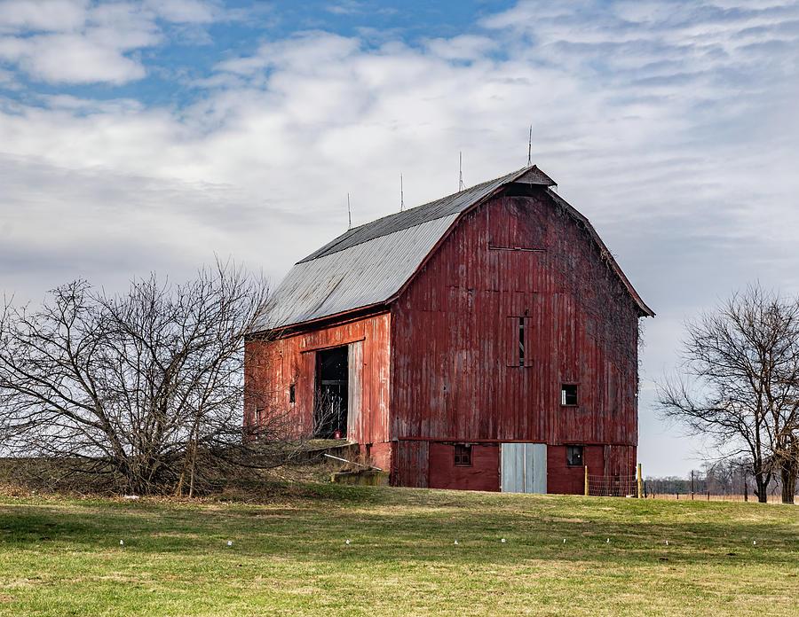 Landscape Photograph - Indiana Barn #100 by Scott Smith