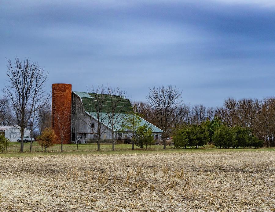 Landscape Photograph - Indiana Barn #102 by Scott Smith