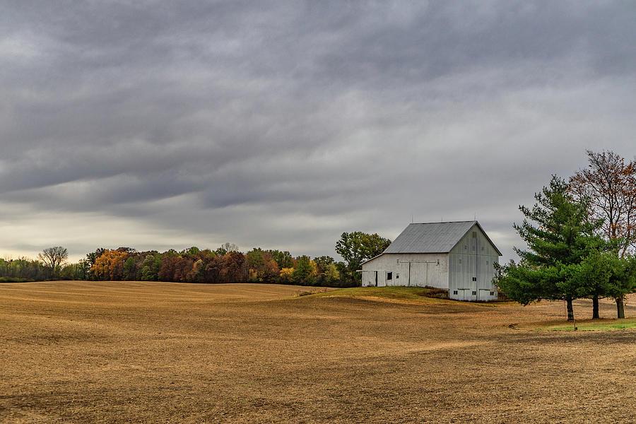 Landscape Photograph - Indiana Barn #113 by Scott Smith
