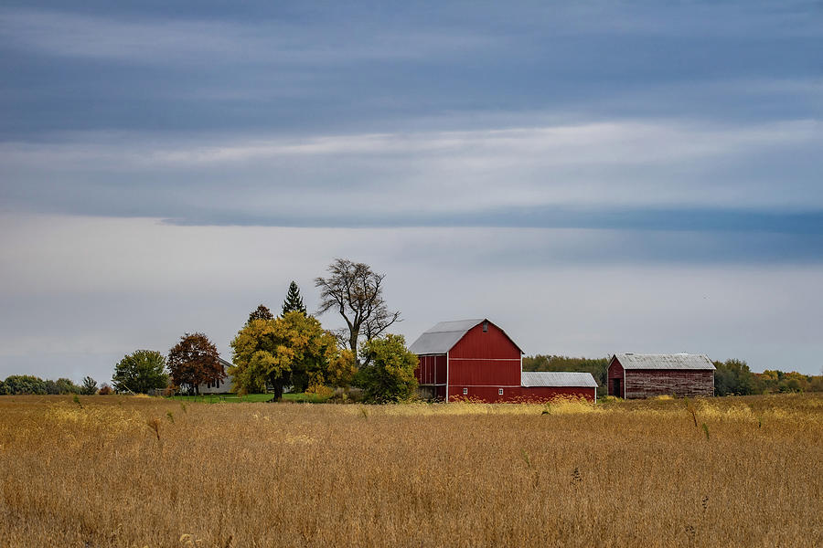 Landscape Photograph - Indiana Barn #118 by Scott Smith