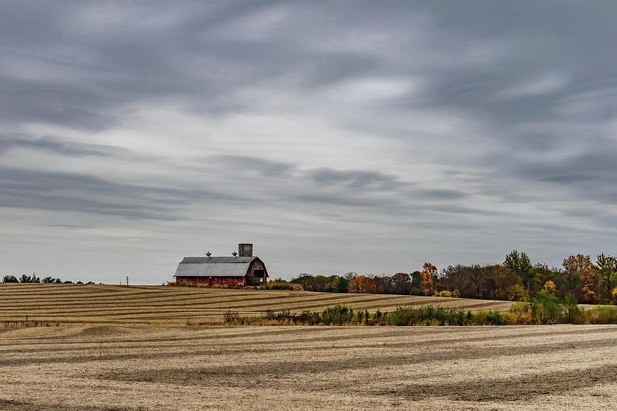 Landscape Photograph - Indiana Barn #124 by Scott Smith
