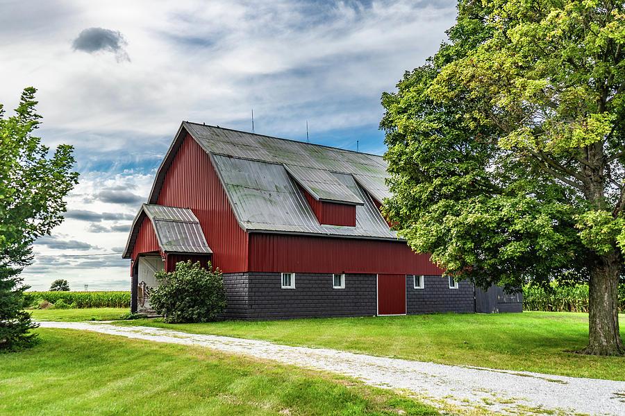 Landscape Photograph - Indiana Barn #126 by Scott Smith