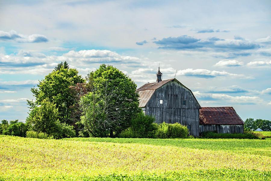 Landscape Photograph - Indiana Barn #128 by Scott Smith
