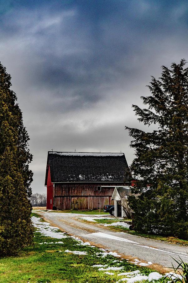 Landscape Photograph - Indiana Barn #158 by Scott Smith