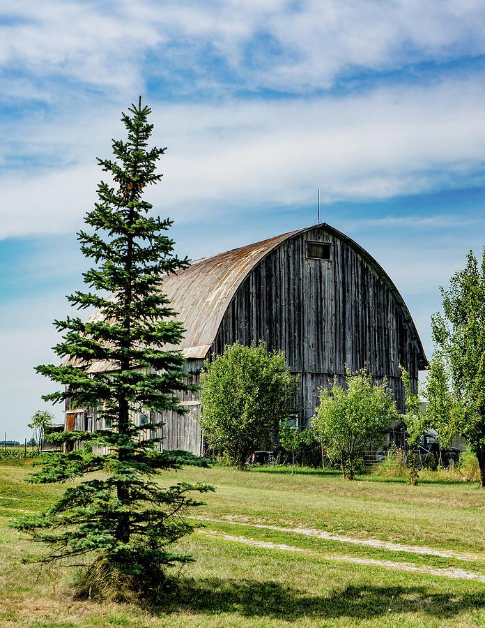 Landscape Photograph - Indiana Barn #24 by Scott Smith