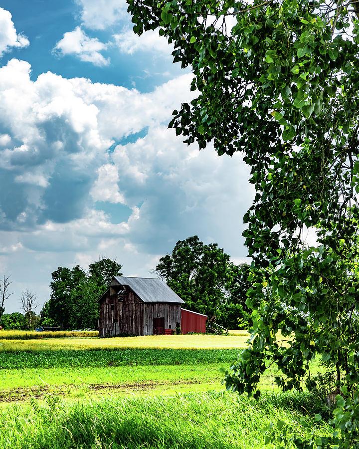 Landscape Photograph - Indiana Barn #4 by Scott Smith