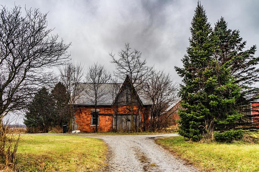 Landscape Photograph - Indiana Barn #98 by Scott Smith