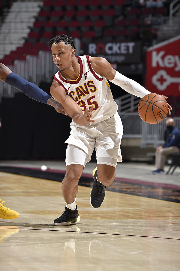 Indiana Pacers v Cleveland Cavaliers Photograph by David Liam Kyle