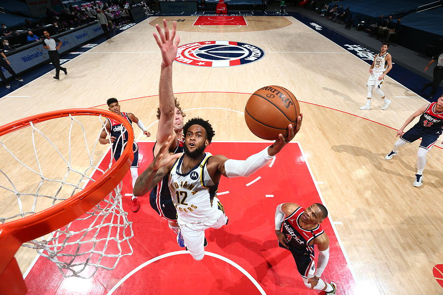Indiana Pacers v Washington Wizards Photograph by Stephen Gosling