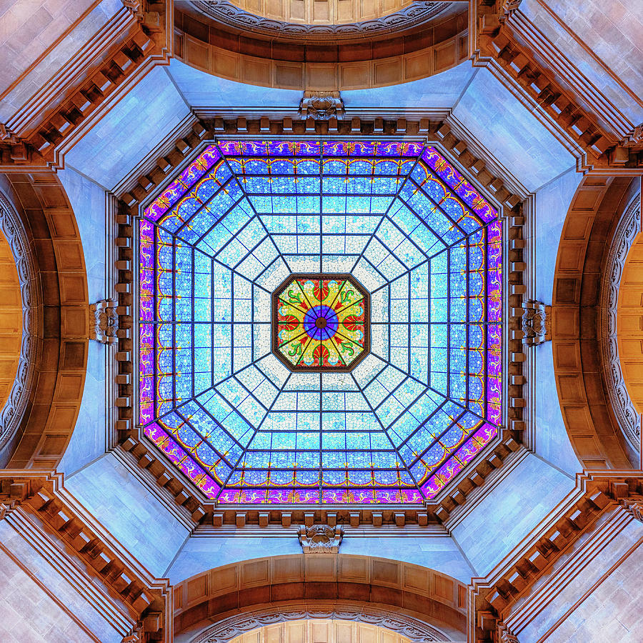Indiana Statehouse Interior Dome #2 Photograph