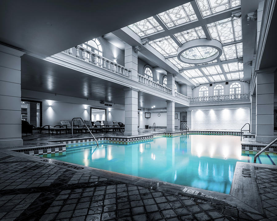 Indoor Pool At The Grand Hotel Toronto Photograph By Dee Potter