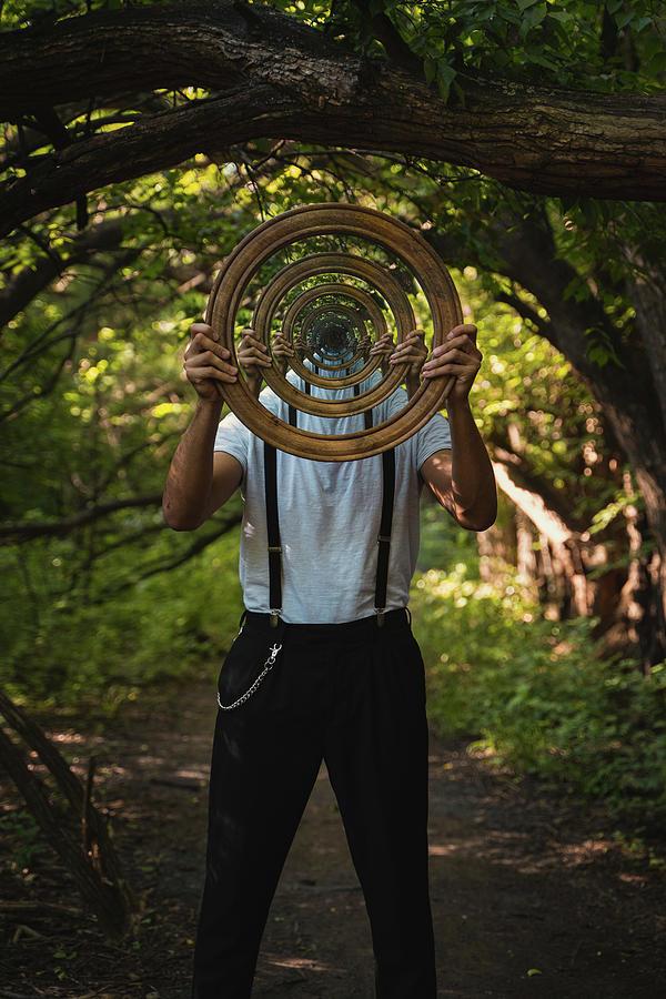 Mirror Photograph - Infinite by Scott Huynh
