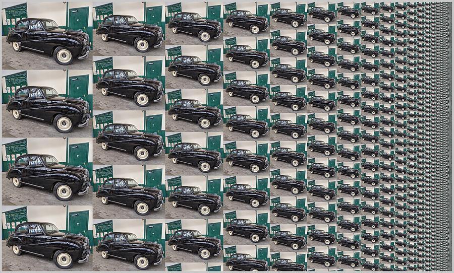 Infinitely Efficient Car Factory by Petri Keckman