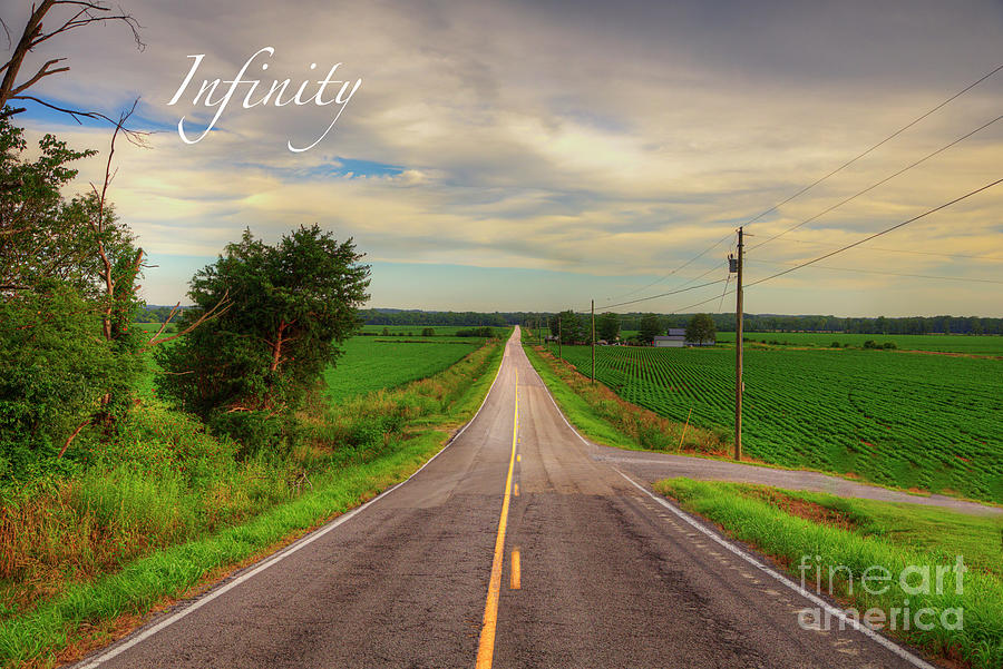 Travel Photograph - Infinity  by Larry Braun