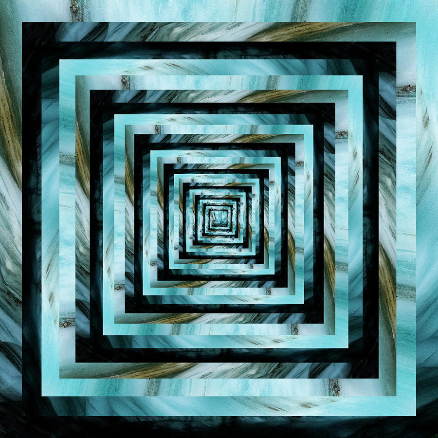 Infinity Tunnel Glacier Digital Art